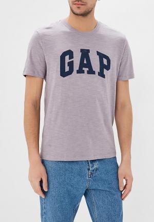 Футболка Gap. Цвет: фиолетовый