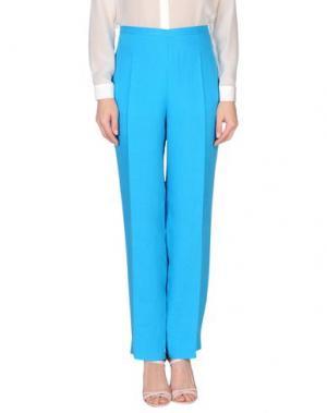 Повседневные брюки CALALUNA. Цвет: бирюзовый