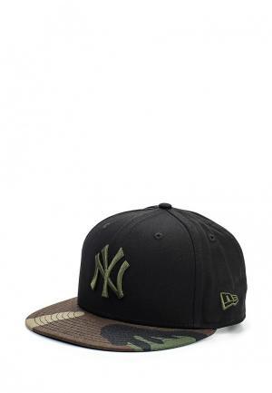Бейсболка New Era. Цвет: черный