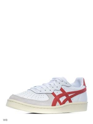 Спортивная обувь GSM ONITSUKA TIGER. Цвет: белый, красный