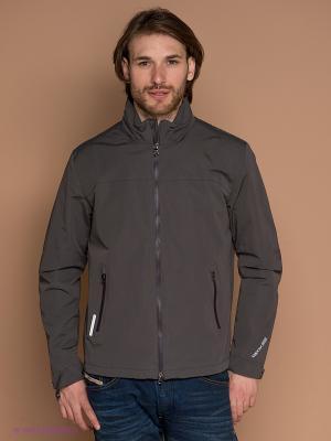 Куртка GEOX. Цвет: темно-серый