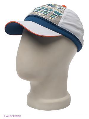 Бейсболка Maxval. Цвет: белый, синий, светло-серый