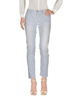 Повседневные брюки NINE:INTHE:MORNING. Цвет: грифельно-синий