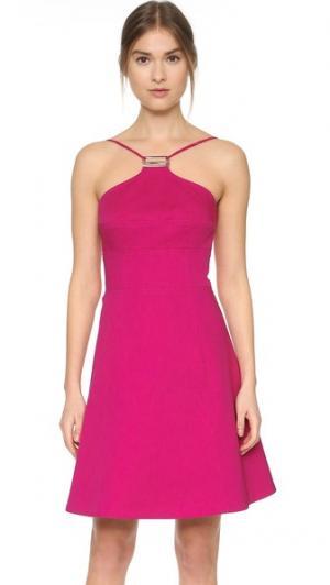 Платье без рукавов KAUFMANFRANCO. Цвет: ярко-розовый
