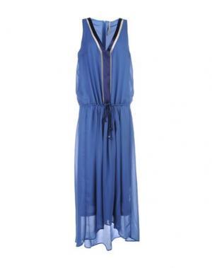 Длинное платье EMMA&GAIA. Цвет: лазурный