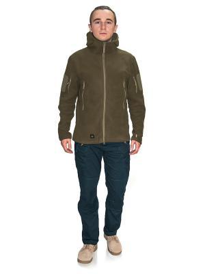Куртка флисовая Obereg PolarFL TACTICAL FROG. Цвет: оливковый