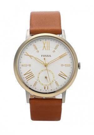 Часы Fossil. Цвет: коричневый