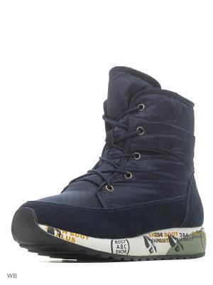 Ботинки Sasha Fabiani.. Цвет: синий