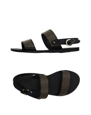Сандалии ANCIENT GREEK SANDALS. Цвет: черный