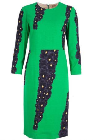 Платье N°21. Цвет: зеленый