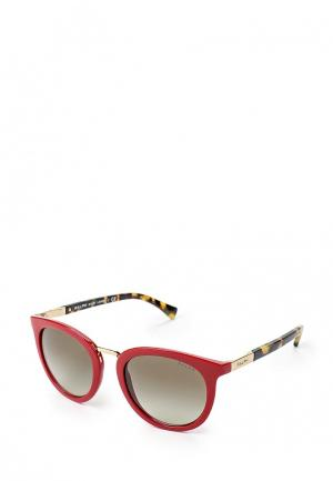 Очки солнцезащитные Ralph Lauren. Цвет: красный