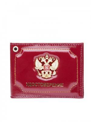 Удостоверение Forte. Цвет: бордовый