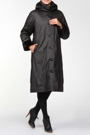 Пальто Loft. Цвет: черный