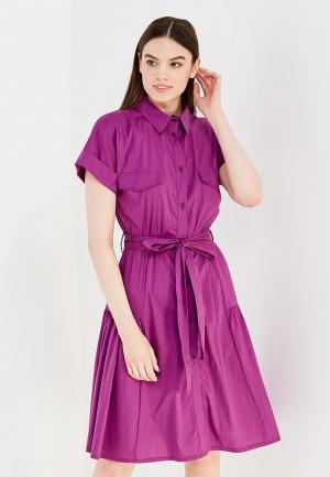 Платье Tutto Bene. Цвет: фиолетовый