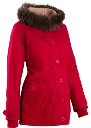 Мода для беременных: куртка с капюшоном (оливковый) bonprix. Цвет: оливковый