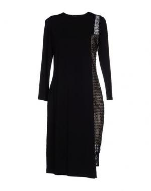 Платье до колена CRISTINAEFFE. Цвет: черный