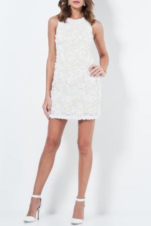 Платье Milla by trendyol. Цвет: белый