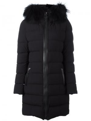 Пуховое пальто Calla Mackage. Цвет: чёрный