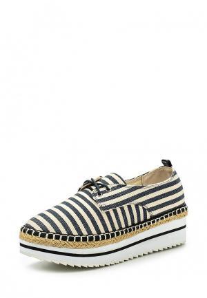 Ботинки Avenir. Цвет: черно-белый
