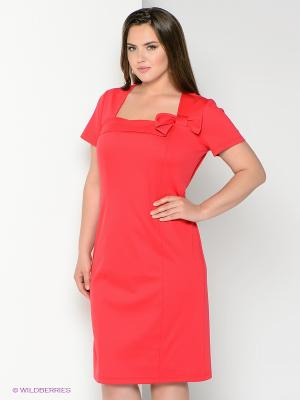 Платье Alego. Цвет: красный