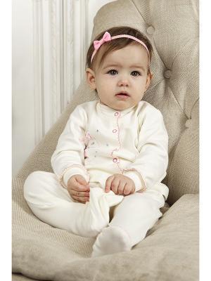 Комплект одежды для малышей SNO KATT. Цвет: молочный