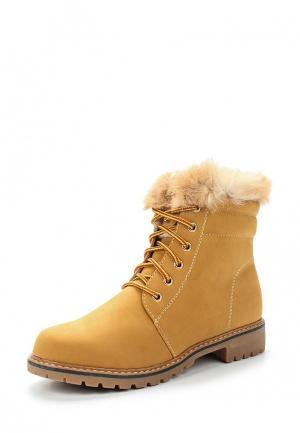 Ботинки Fashion & Bella. Цвет: коричневый