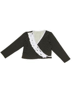 Блуза PETITE MARI. Цвет: черный