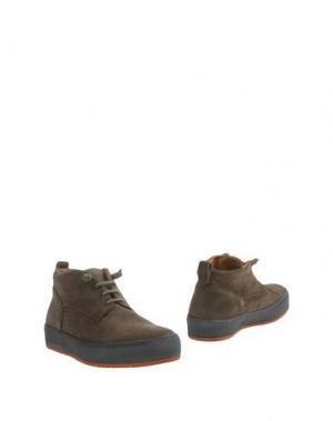Полусапоги и высокие ботинки BARLEYCORN. Цвет: свинцово-серый