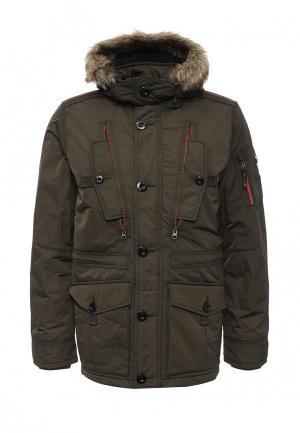 Куртка утепленная s.Oliver. Цвет: хаки