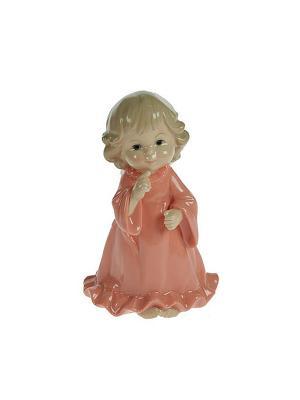 Статуэтка Ангелочек Русские подарки. Цвет: кремовый, белый
