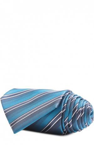 Галстук Brioni. Цвет: морской волны