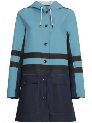 Пальто  x Stutterheim Marni. Цвет: синий