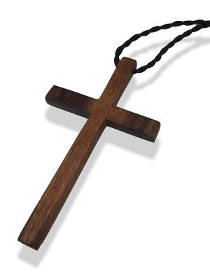 Крест 3(1) Jana Duff  цвет коричневый. Цвет: коричневый