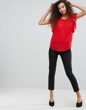 Ichi Облегающие брюки. Цвет: черный