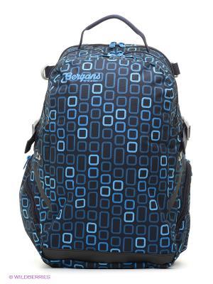 Рюкзак Bergans. Цвет: синий, голубой, черный