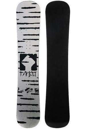 Сноуборд  Bereza Grey/Black Turbo-FB. Цвет: серый,черный