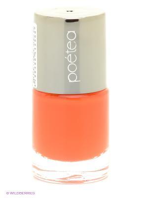 Лак для ногтей POETEA НЕОН, тон 96 POETEQ. Цвет: оранжевый
