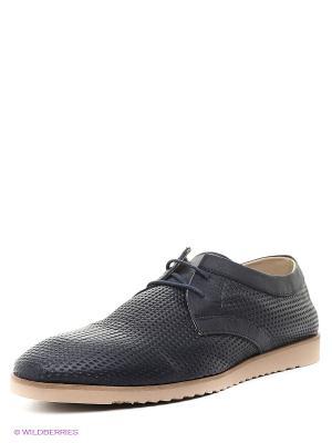 Туфли METROPOLPOLIS. Цвет: темно-синий