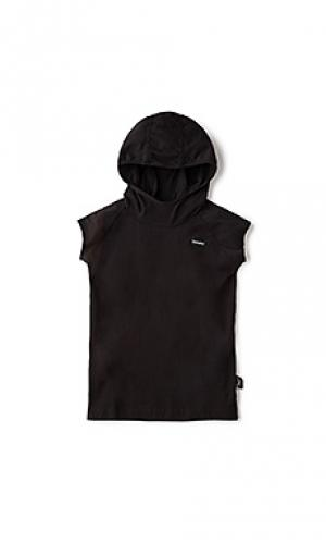 Hooded ninja shirt Nununu. Цвет: черный