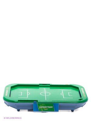 Настольная игра Аэрофутбол X-Match. Цвет: зеленый, синий