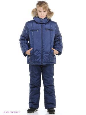 Куртка Baby Line. Цвет: синий