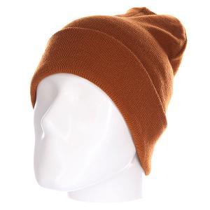 Шапка  Everyday Beanie Brown Today. Цвет: коричневый