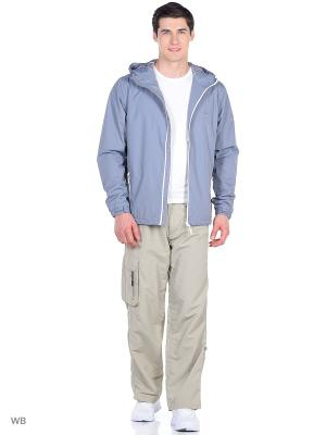 Куртка Trespass. Цвет: светло-серый