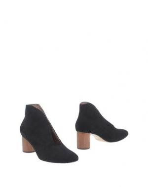 Полусапоги и высокие ботинки ANTONIO BARBATO. Цвет: черный