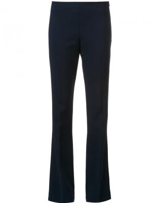 Tailored flared trousers Trina Turk. Цвет: синий
