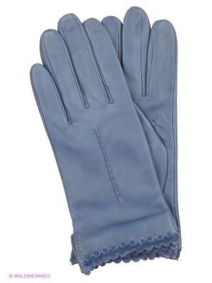 Перчатки Fabretti. Цвет: серо-голубой, бежевый