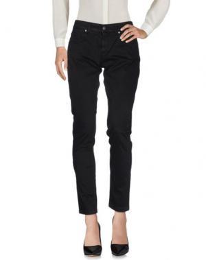 Повседневные брюки REVER'S. Цвет: черный