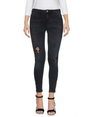Джинсовые брюки ONLY BLU. Цвет: черный