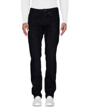 Джинсовые брюки HEAVEN TWO. Цвет: черный