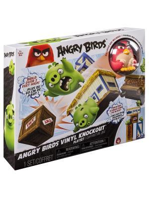 Игрушка Angry Birds игровой набор взрывная птичка SPIN MASTER. Цвет: белый, зеленый